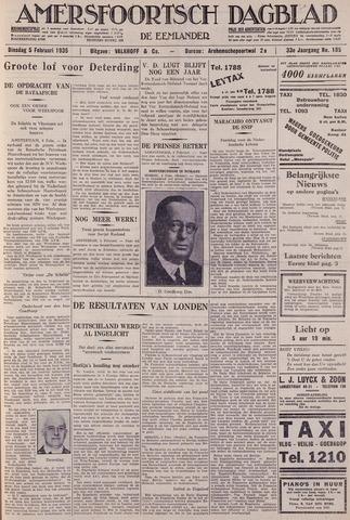 Amersfoortsch Dagblad / De Eemlander 1935-02-05