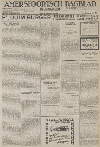 Amersfoortsch Dagblad / De Eemlander 1928-08-04