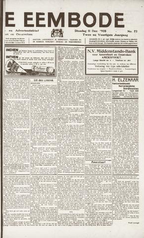 De Eembode 1928-12-11