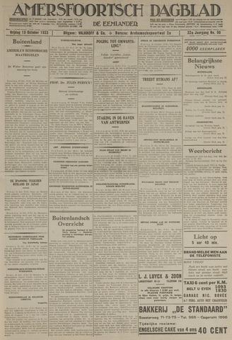 Amersfoortsch Dagblad / De Eemlander 1933-10-13