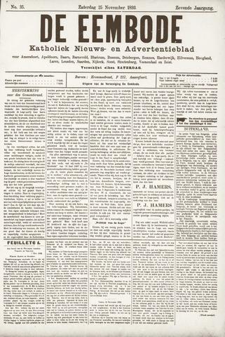 De Eembode 1893-11-25