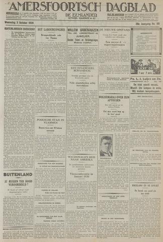 Amersfoortsch Dagblad / De Eemlander 1929-10-02