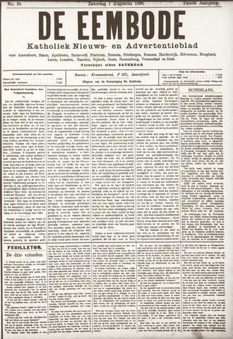 De Eembode 1896-08-01