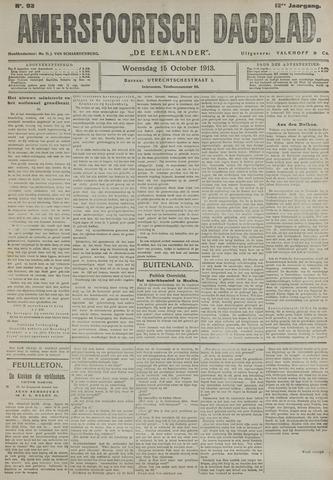 Amersfoortsch Dagblad / De Eemlander 1913-10-15