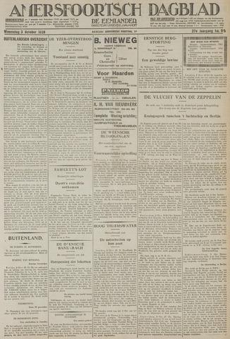 Amersfoortsch Dagblad / De Eemlander 1928-10-03