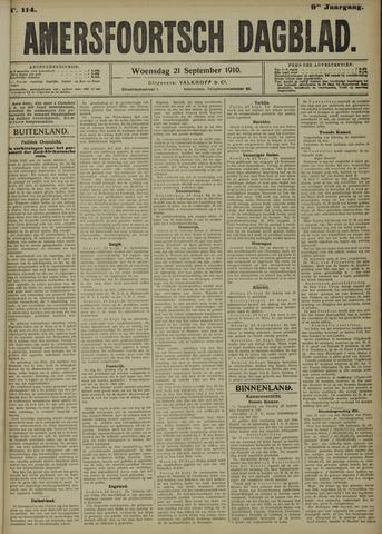 Amersfoortsch Dagblad 1910-09-21