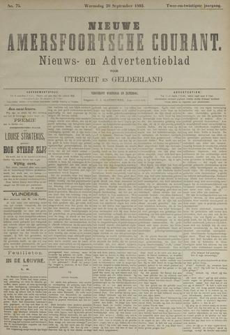 Nieuwe Amersfoortsche Courant 1893-09-20