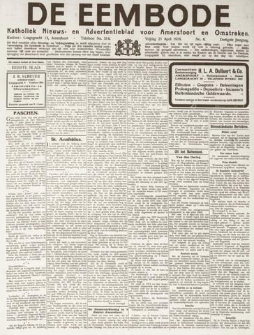 De Eembode 1916-04-21