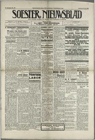 Soester Courant 1924-07-19