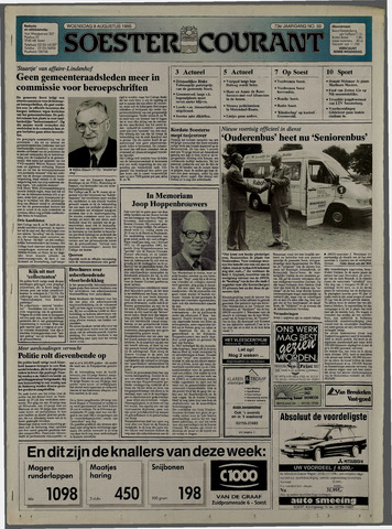 Soester Courant 1995-08-09