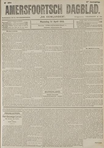 Amersfoortsch Dagblad / De Eemlander 1913-04-21
