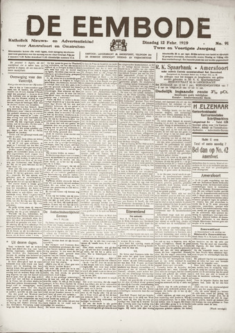 De Eembode 1929-02-12