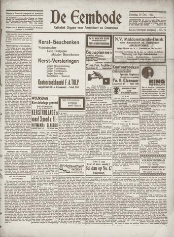 De Eembode 1932-12-20