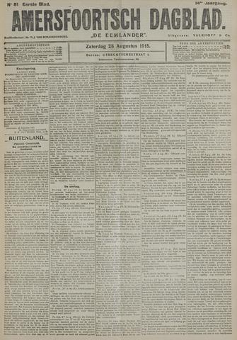 Amersfoortsch Dagblad / De Eemlander 1915-08-28