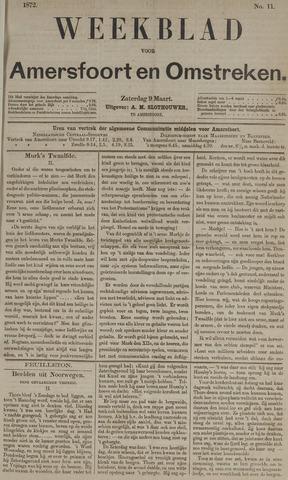 Weekblad voor Amersfoort en Omstreken 1872-03-09