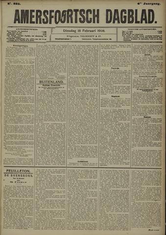 Amersfoortsch Dagblad 1908-02-18
