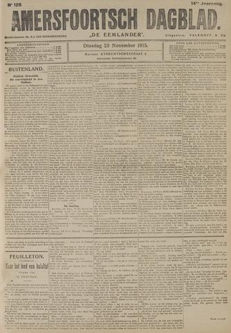 Amersfoortsch Dagblad / De Eemlander 1915-11-23