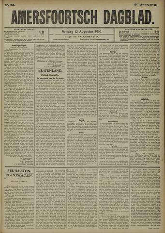 Amersfoortsch Dagblad 1910-08-12