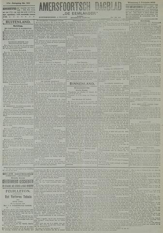 Amersfoortsch Dagblad / De Eemlander 1922-02-01