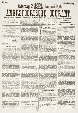 Amersfoortsche Courant 1915