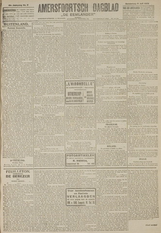 Amersfoortsch Dagblad / De Eemlander 1922-07-06