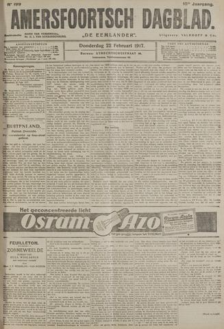 Amersfoortsch Dagblad / De Eemlander 1917-02-22