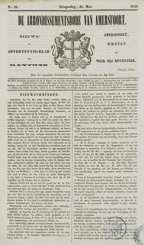 Arrondissementsbode van Amersfoort 1849-05-29