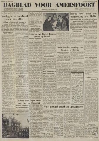 Dagblad voor Amersfoort 1949-04-30