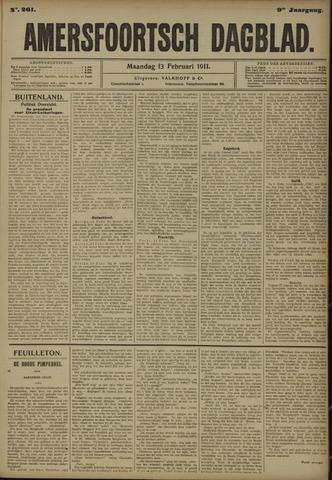 Amersfoortsch Dagblad 1911-02-13