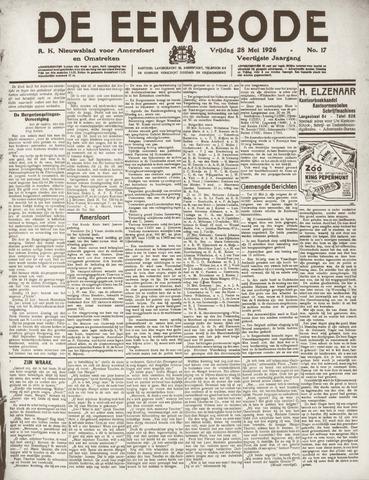 De Eembode 1926-05-28