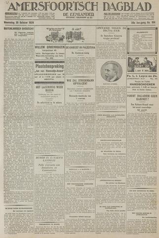 Amersfoortsch Dagblad / De Eemlander 1929-10-30