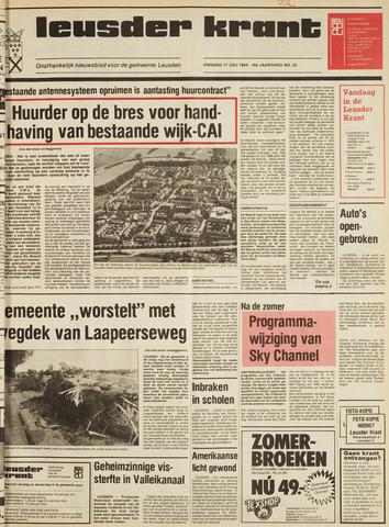 Leusder Krant 1984-07-17