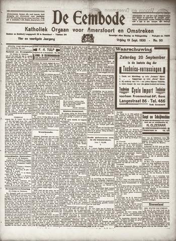 De Eembode 1930-09-19