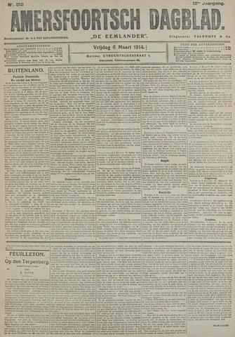Amersfoortsch Dagblad / De Eemlander 1914-03-06