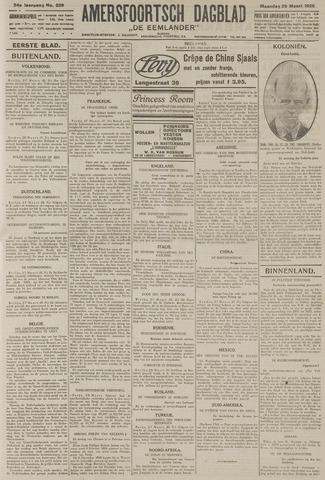 Amersfoortsch Dagblad / De Eemlander 1926-03-29