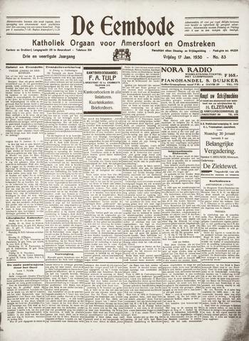 De Eembode 1930-01-17