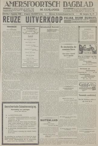 Amersfoortsch Dagblad / De Eemlander 1930-08-02