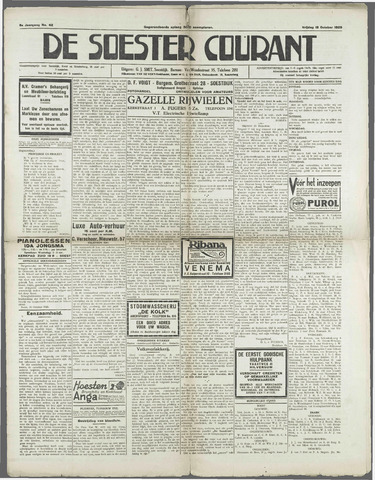 Soester Courant 1929-10-18