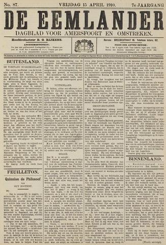 De Eemlander 1910-04-15