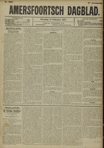 Amersfoortsch Dagblad 1907-02-19