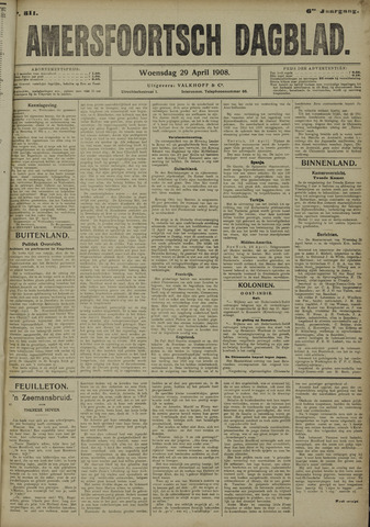 Amersfoortsch Dagblad 1908-04-29