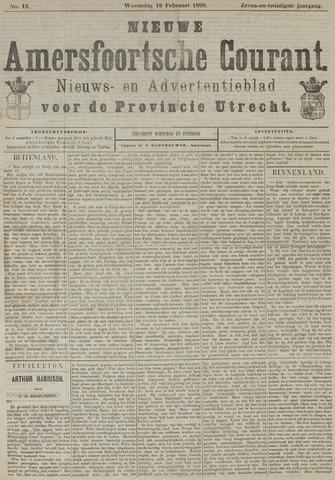 Nieuwe Amersfoortsche Courant 1898-02-16