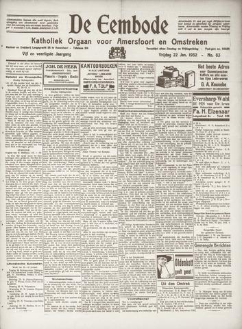De Eembode 1932-01-22