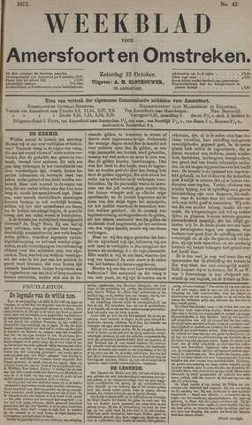 Weekblad voor Amersfoort en Omstreken 1872-10-12