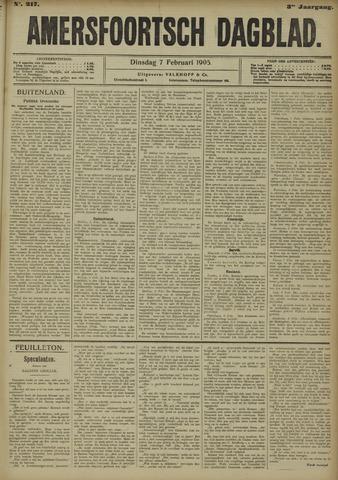 Amersfoortsch Dagblad 1905-02-07