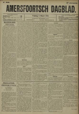 Amersfoortsch Dagblad 1910-03-04