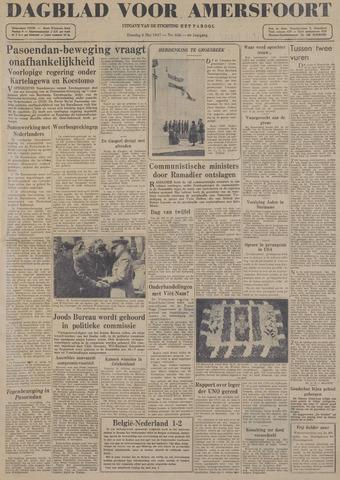 Dagblad voor Amersfoort 1947-05-06