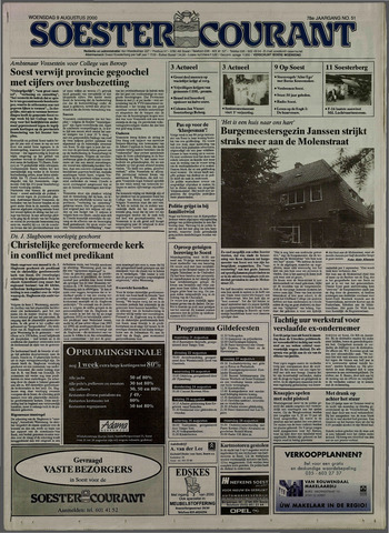 Soester Courant 2000-08-09
