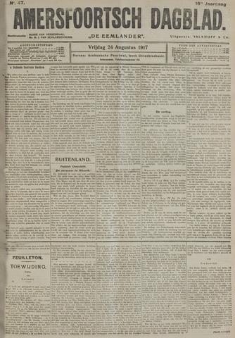 Amersfoortsch Dagblad / De Eemlander 1917-08-24