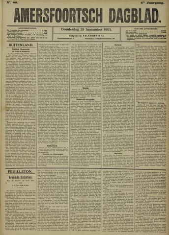 Amersfoortsch Dagblad 1905-09-28